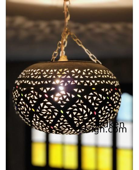moroccan Antique Brass Hanging Lantern...