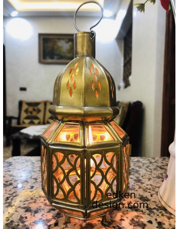 Moroccan lamp style stands...