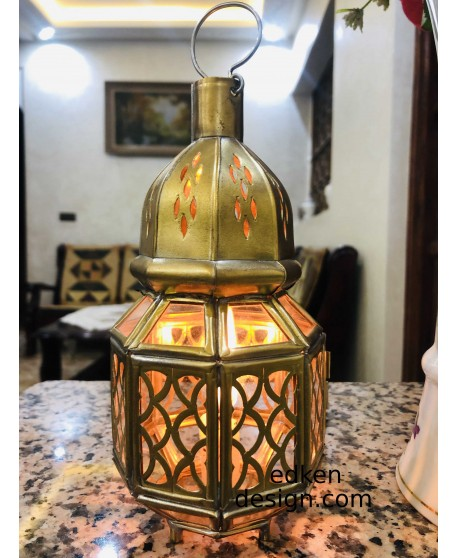 Moroccan lamp style stands type candle lantern brass, lantern candle stands candle holder LED candlelight brass