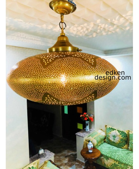 Pendant Light Brass Vintage Moroccan lamp Handmade Home deco, moroccam lamp ceiling