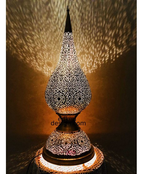 Moroccan Lamps table, Lighting Floor Moroccan Handmade Home Deco