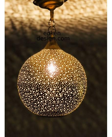 CEILING LIGHTS BRASS Moroccan Suspension Hanging Vtg Ceiling ...