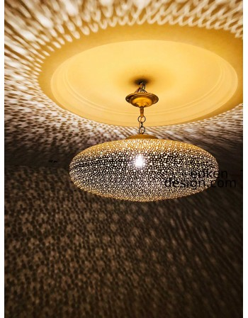 New Moroccan light fixture,...