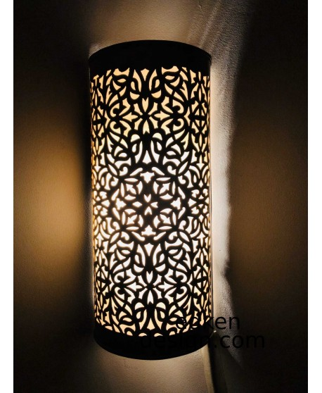 Sold AS A Set of 2 ,Moroccan wall lamps sconce Fixture wall lights Handmade