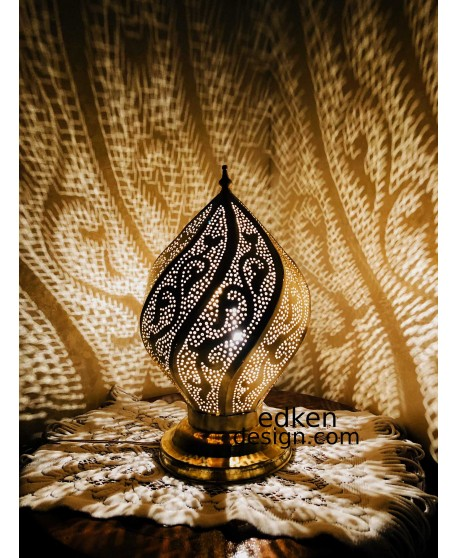 MOROCCAN LAMP table & floor light Handmade, desk lamp shade