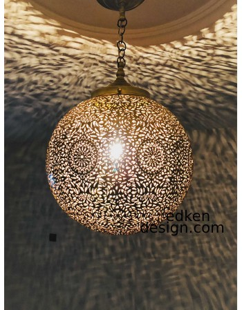 Deluxe Table Lamp Moroccan Lamp Lampshade Home Decor Brass Light Fixture Modern Lighting