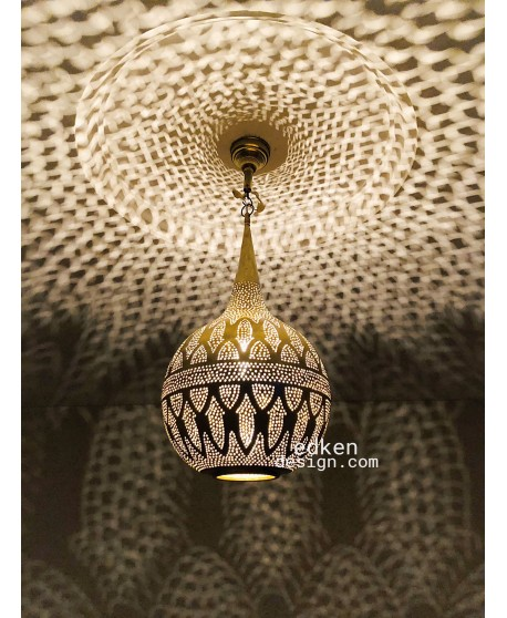 Moroccan Pendant Light Brass Finished Antique Vintage, Moroccan lamp  Handmade Engraved, New Home Decor Lighting