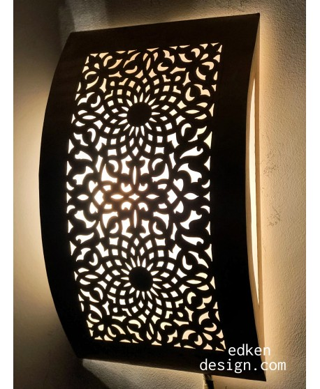 Set of 2, Moroccan wall lamps sconce - Wall Sconce light Handmade