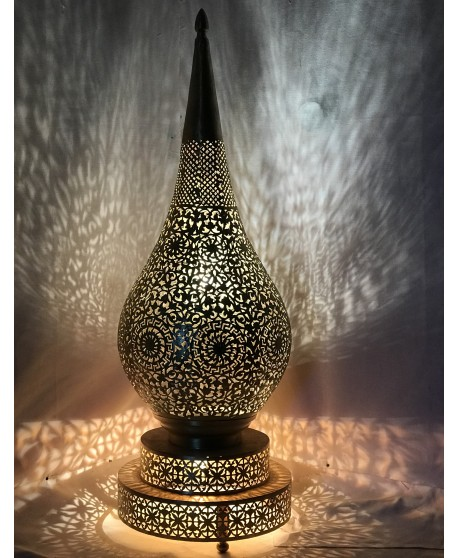 Moroccan Table Lamps , Moroccan Lighting Floor brass Home Decor