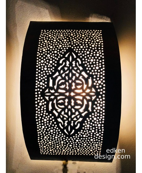 Set of 2 pieces Wall lights Moroccan - Wall Sconce lamps Handmade HOMEDECO