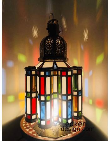 Large Moroccan Floor Lamp...