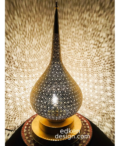 Moroccan Lamps Table & Floor Lamps In Brass Made By Hand MAde HOME DECOR
