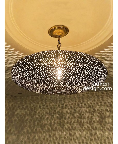 Moroccan Pandant Light, Lamp Ceiling, Handmade traditional Moroccan lamp, Ornate Arabic pattern