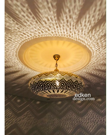 Moroccan Ceiling Lamp Moroccan Pendant Lamps Decor Lighting Pendant Light Brass Vintage Handmade