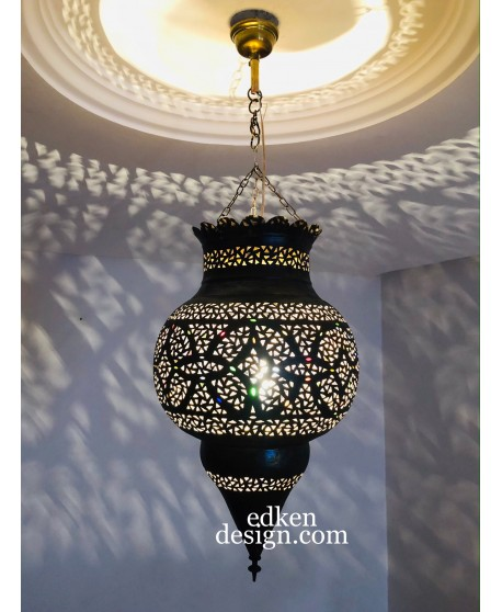 Moroccan lamps ceiling Antique Brass Hanging Lantern