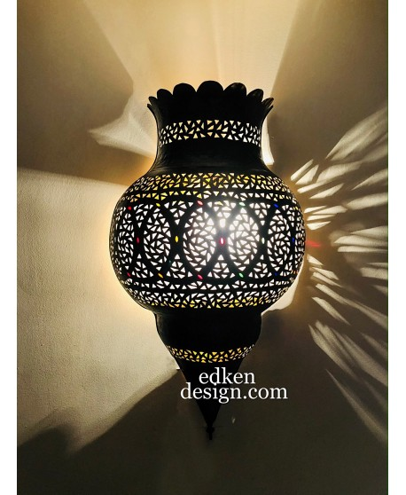 Moroccan Lamps Wall sconces Antique Brass