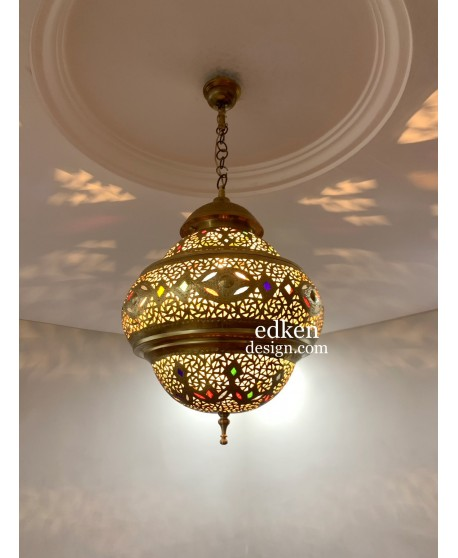 Moroccan Lamps Ceiling Brass Hanging Lantern