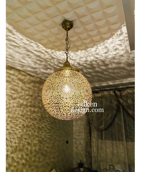 Moroccan Pendant Light, Moroccan Lamp Ceiling, Antique Vintage, New Home Decor Lighting, Handmade Engraved