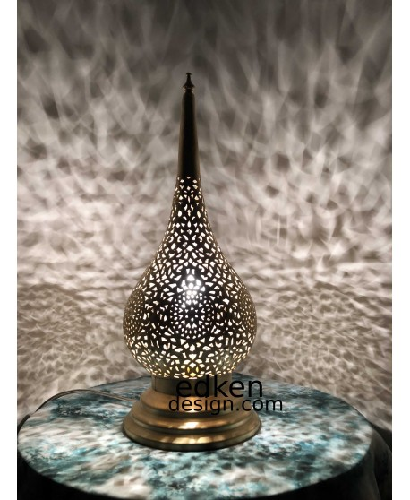 Moroccan lamp table & Moroccan Floor light  brass made by hand